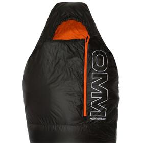 OMM Mountain Raid 1.0 Sleeping Bag black/orange